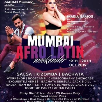 Mumbai Afro Latin Weekender 2019