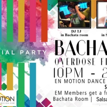 En Motion Weekly Street Latin Night Friday