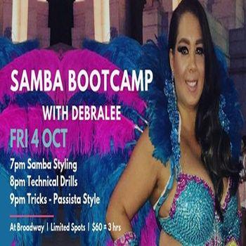 Samba Bootcamp with Debralee