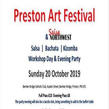 SBK Salsa Workshop Day with Preston Arts Festival