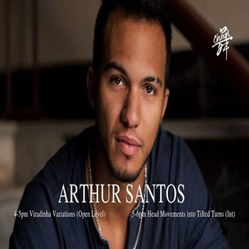 Zouk Workshops with Arthur Santos in Singapore