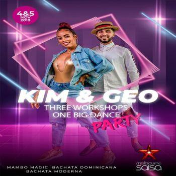 International Mambo & Bachata Duo Kim & Geo