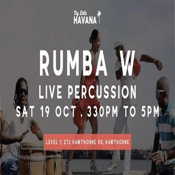 Rumba Workshop w/ Live Percussion – OCT 19