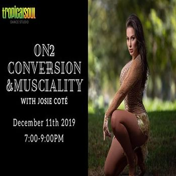 On2 Conversion and Musicality Workshop with Josie Cote