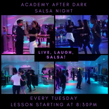 Academy After Dark Salsa Night at the Social Club