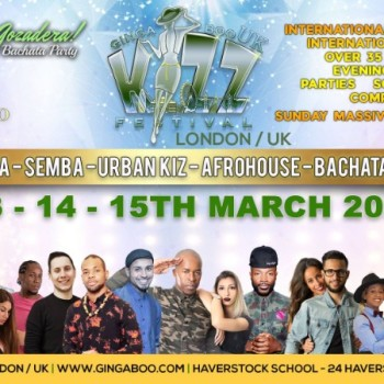 Ginga Boo Kizz Festival UK / London