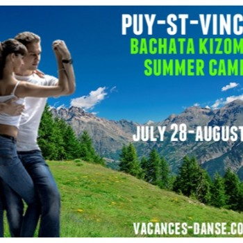 Puy Saint Vincent Bachata Kizomba Summer Camp
