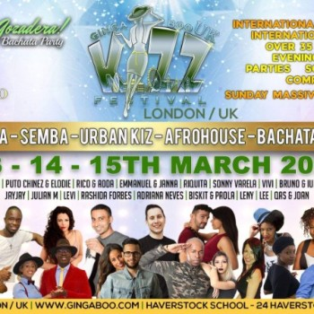 Ginga Boo Kizz Festival UK / London