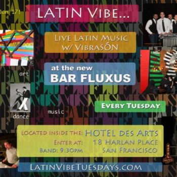 Latin Vibe Tuesdays in SF