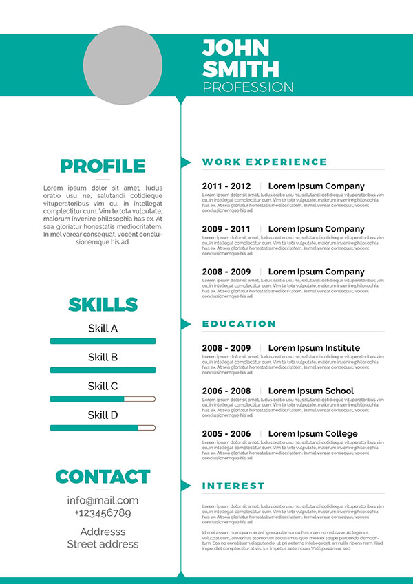 Resume Standar Format