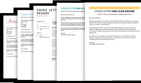 cover letter maker