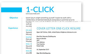 Blog One Click Resume Builder