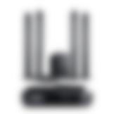 Heimkino Säulenlautsprecher Columa 300 AV-Receiver Impaq von Teufel L Schwarz