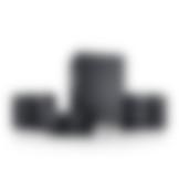 Heimkino Micro-Lautsprecher Aluminium Cubycon T SW Subwoofer von Teufel Schwarz