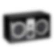 System 8 THX Cinema 5.1 - S 800 FCR vorne ohne Abdeckung Schwarz