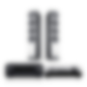DEFINION 3 + DENON 800H + DUAL DT500 - black black/white- Set