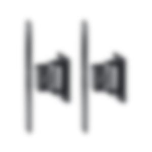 Wandhalter AC 5500 SM (Paar)