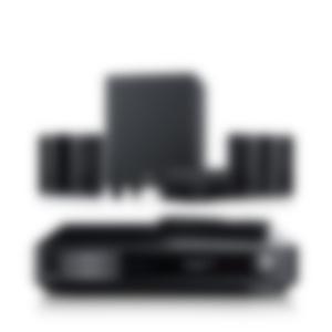 Heimkino Microlautsprecher Consono 35 AV-Receiver Impaq von Teufel Schwarz