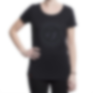 Damen T-Shirt - black - Lifestyle