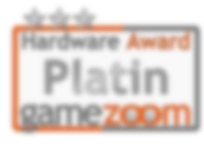 Testbericht - gamezoom - platin hardware award test
