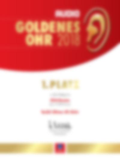 Award - Goldenes Ohr 2019 - Audio - Ultima 40 Aktiv