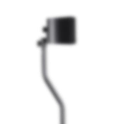 Lautsprecherzubehör Standfuß CS 15 FCR Lautsprecher Seitenansicht Schwarz