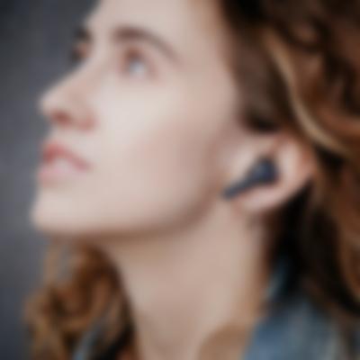 Bluetooth AIRY True Wireless Kabellos Schwarz