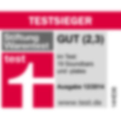 Testbericht - Stiftung Warentest - Cinebar 11 - Front Straight [DE]