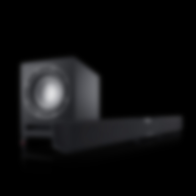 Soundbar Cinebar Pro Subwoofer frontfire