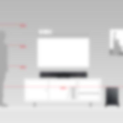 Soundbar Cinebar Pro Größenvergleich