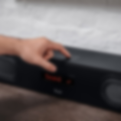 Soundbar Cinebar Stereo-Lautsprecher Ultima Schwarz Anwendung