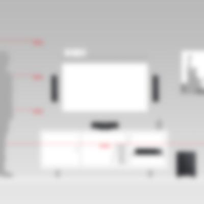 Heimkino Säulenlautsprecher Columa 300 AV-Receiver Impaq von Teufel M