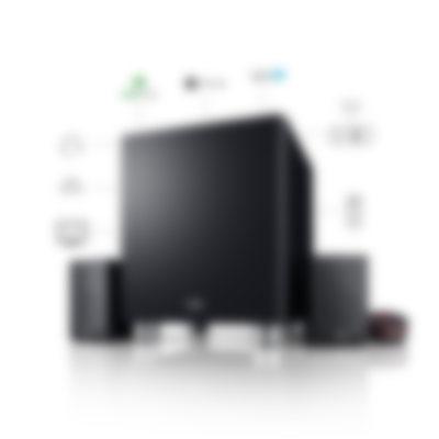 Microlautsprecher Concept C Center-Lautsprecher