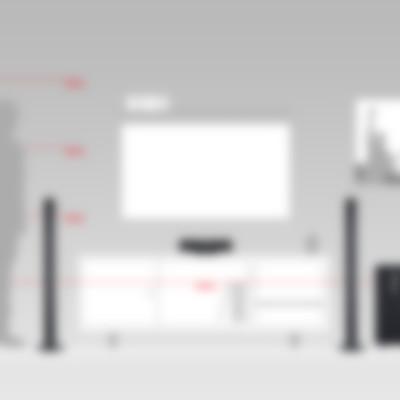 Microlautsprecher Concept E 450 Komplettanlage Digital