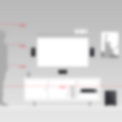 Heimkino Microlautsprecher Consono 35 AV-Receiver Impaq