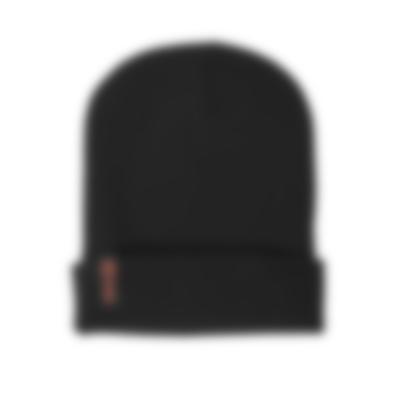Unisex Beanie Mütze - black - Set