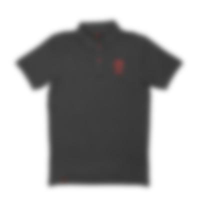 Herren Piqué-Polohemd - black - Set