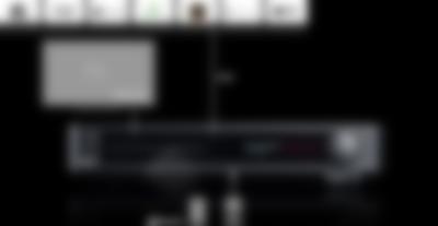 Blu-ray-Receiver Impaq 8000 Anschlüsse