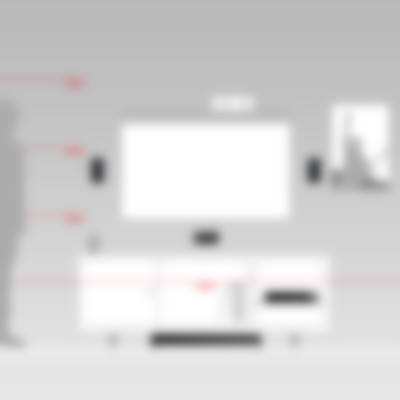 Heimkino Micro-Lautsprecher Aluminium Cubycon AV-Receiver Impaq
