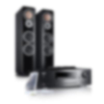 Stereoanlage Kombo 62 Schwarz von Teufel