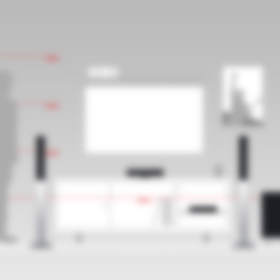 Heimkino Säulenlautsprecher LT 4 Complete Komplettanlage von Teufel L