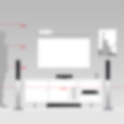 Heimkino Säulenlautsprecher LT 4 AV-Receiver Impaq von Teufel L