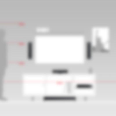 Heimkino Säulenlautsprecher LT 4 AV-Receiver Impaq von Teufel M