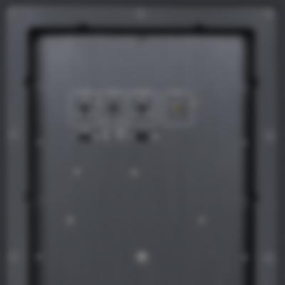 Subwoofer US 8112/1 SW - Back Connectors