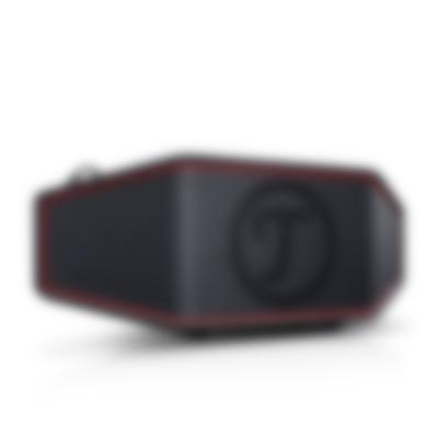 Bluetooth ROCKSTER CROSS Schwarz Frontansicht