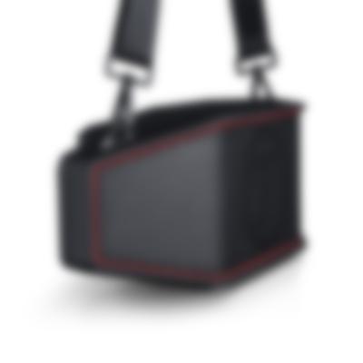 Bluetooth ROCKSTER CROSS Schwarz Seitenansicht
