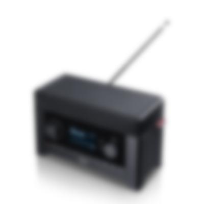 Radio 3sixty - black - front angled 02