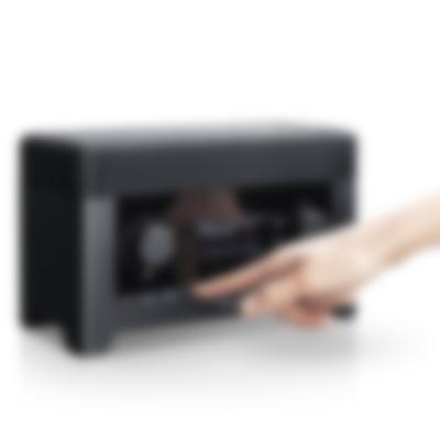 Radio 3sixty - black - detail display hand