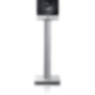 Raumfeld M Stands - silver - Front Straight Crop