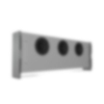 Raumfeld Soundbar - Subwoofer - white back angled
